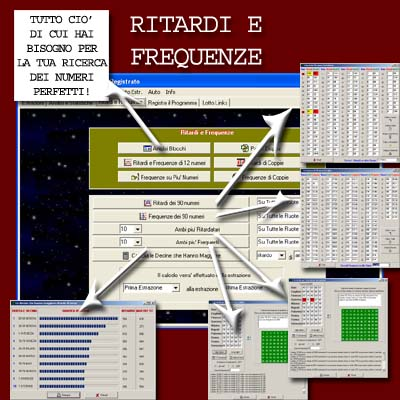 Magicalotto: Ritardi e Frequenze